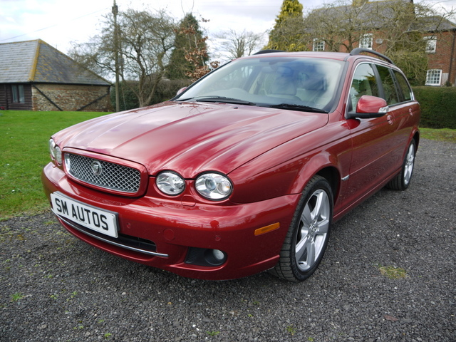 Chilli Red Metallic Jaguar X-Type