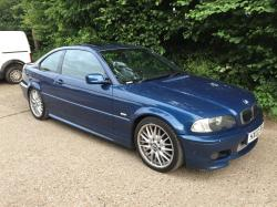 Blue BMW 325 ci Sport