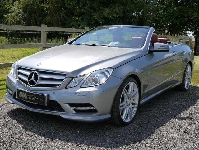 Metallic Palladium Silver  Mercedes-Benz E350 CDi