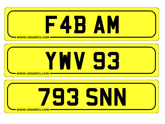 OtherNumber plates