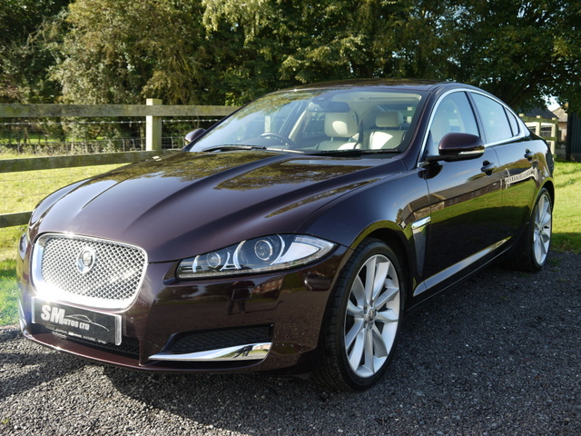 Caviar metallic Jaguar XF