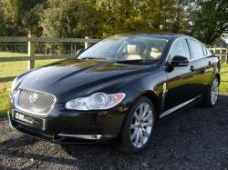 Ultimate Black Metallic Jaguar XF