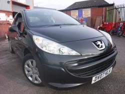 BLACK Peugeot 207 62K MOT NOV 2020