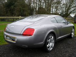 Silver Tempest Bentley Continental