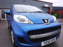 Peugeot 107 5 DOOR MINT CAR