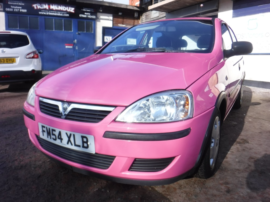 VauxhallCORSA ONLY 26K IN  PINK