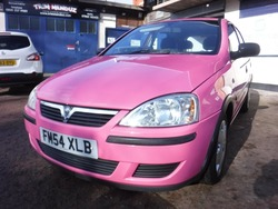 Vauxhall CORSA ONLY 26K IN  PINK