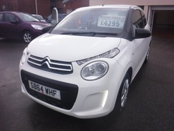 Citroen C1 WHITE 3 DOOR  FSH