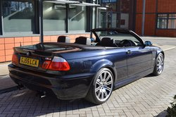 Carbon Black BMW E46 M3 Convertible, Manual