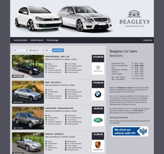 Dealer Website Preivew - Beagleys