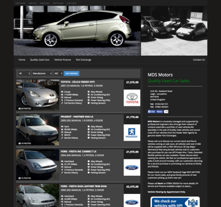 Dealer Website Preivew - MDS Motors